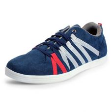 Buy BACCA BUCCI MEN Blue Synthetic CASUAL SHOES from Amazon