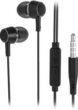 Flat 16% off on Flipkart SmartBuy Wired Metal Headset With Mic  (Black)