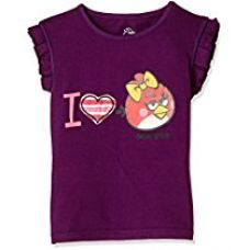 Buy Angry Birds Girls' T-Shirt from Amazon