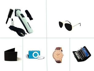 Kriva Enterprise Trimmer with Fashion Accessories Combo of 5 - KRIVA217 for Rs. 1,599