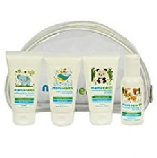 Mamaearth Travel Essentials Kit for New borns, babies and kids- Set of Baby Shampoo(40ml), Baby Lotion(40ml), Baby Body Wash(40ml) & Baby Oil(40ml)- Age Group 0-5 Years for Rs. 300