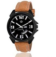 Limestone Analogue Black Dial Kids Watch-Ls2613 for Rs. 529
