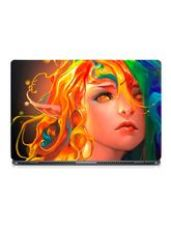 Buy Skin Yard Rainbow Hair Art Girl Potrait Laptop Ski from Infibeam