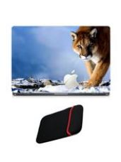 Skin Yard Apple Tiger Laptop Skin with USB LED & O for Rs. 199