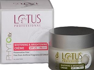 Buy Lotus Professional PhytoRx Whitening & Brightening Crème SPF25 PA+++, 50g from Amazon