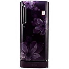 LG 190 L 4 Star Direct-Cool Single Door Refrigerator (GL-D201APOX.APOZEBN, Purple Orchid,Base Stand with Drawer,Inverter Compressor) for Rs. 16,990
