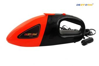 Buy Destorm DS-6570 Cyclone Power Wet and Dry Car Vacuum Cleaner  (Red, Black) from Flipkart