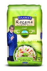 Buy Daawat Rozana Gold Basmati Rice, 1kg from Amazon