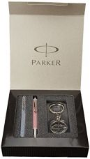 Parker Vector Special Edition  Roller Ball Pen and Special Edition Ball Pen with Free Parker Key Chain for Rs. 313