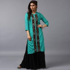 Buy Anuswara Teal Blue R for Rs. 1,519