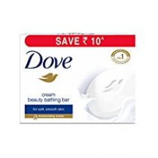Dove Cream Beauty Bathing Bar, 3 X 100g for Rs. 162