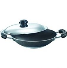 Prestige Omega Select Plus Residue Free Non-Stick Deep Appachetty with Lid, 20cm for Rs. 810