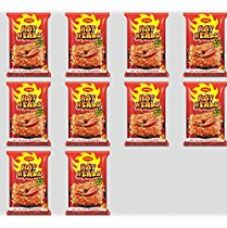 Buy Maggi Hotheads Noodles, Chilli Chicken, 71g (Pack of 10) from Amazon