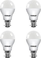 Eveready 9 W B22 LED Bulb(White, Pack of 4) for Rs. 469