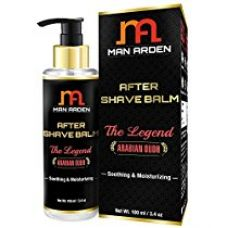 Man Arden After Shave Balm Legend (Soothing & Moisturizing With Macademia Oil), 100 ml for Rs. 325