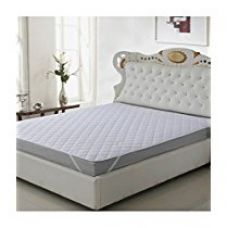 Buy Warmland Polycotton Double Mattress Protector - White from Amazon