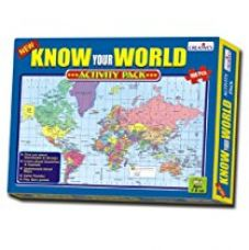 Buy Creative Educational Aids 0721 Know Your World - An Activity Pack from Amazon