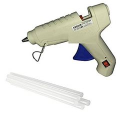 ApTechDeals 40w 40 Watt Hot Melt Glue Gun Coated Nozzle With FREE 8 Glue Sticks - 6 inch for Rs. 428