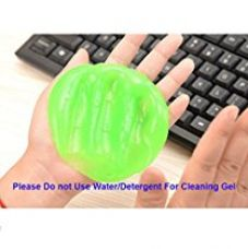 TULMAN Magic Keyboard Cleaner Gel Sticky Jelly Desktop Laptop Computer Dust Remover Flexible Soft Glue Light Green for Rs. 269