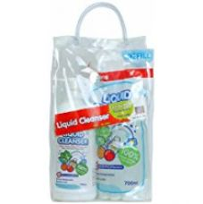 Buy Pigeon Combo Pack of Liquid Cleanser (700ml Bottle + 700ml Refill) from Amazon