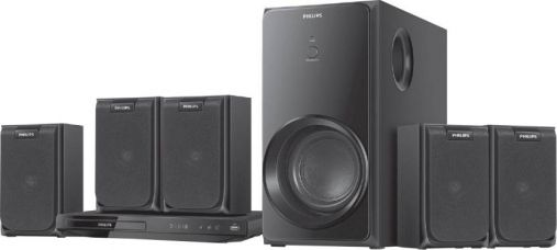 Philips HTD2520 5.1 Home Theatre System  (Black) for Rs. 13,990