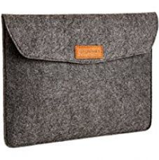Buy AmazonBasics 13-inch Felt Laptop Sleeve (Charcoal) from Amazon