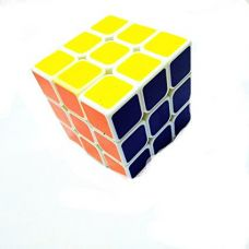 Magic Cube 3x3x3 White Stickerless Rubik's Cube for Rs. 160
