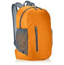 AmazonBasics Ultra thin Foldable Day Pack, Orange, 35L for Rs. 599
