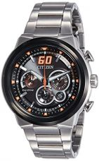 Citizen Sport Eco-Drive Chronograph Orange 45 mm Men's Watch CA4134-55E for Rs. 15,110