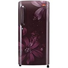 Buy LG 190 L 3 Star Direct-Cool Single Door Refrigerator (GL-B201ASAW.ASAZEBN, Scarlet Aster, Inverter Compressor) from Amazon