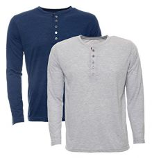 Buy aarbee Men's Cotton T-Shirt - Pack of 2 from Amazon