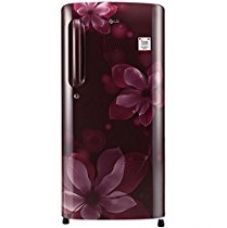 LG 190 L 4 Star Direct-Cool Single Door Refrigerator (GL-B201ASOX.ASOZEBN, Scarlet Orchid,Inverter Compressor) for Rs. 15,490