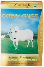 Buy Patanjali Cow's Ghee, 1L from Amazon