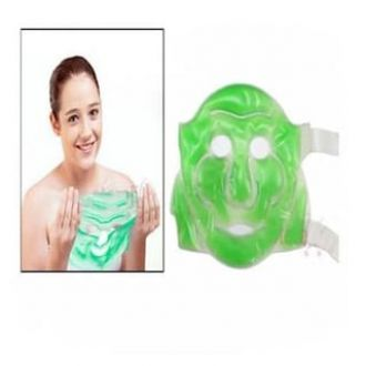 Flat 50% off on Deemark Aloe Vera Cool Face Mask With Eye Mask
