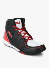 Buy Fila Gibson Black Sneakers from Jabong