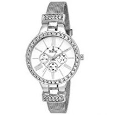 Swisstyle Analogue White Dial Women'S Watch Ss-Lr824-Wht-Ch for Rs. 429