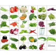 Variety Combo Pack Of 40 Vegetable Seeds For Terrace And Kitchen Gardening By Sap Retailer for Rs. 299
