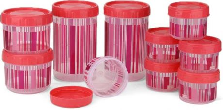 Buy Polyset F-Kart Twisty  - 340 L, 725 L, 1475 L Plastic Multi-purpose Storage Container(Pack of 10, Pink) from Flipkart