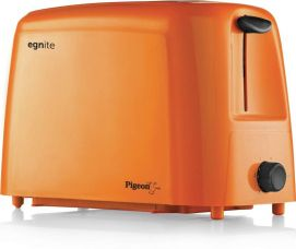Pigeon 12054 750 W Pop Up Toaster  (Orange) for Rs. 1,145