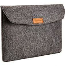 Buy AmazonBasics 15.4-inch Felt Laptop Sleeve (Charcoal) from Amazon