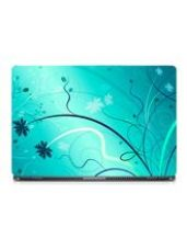 Skin Yard Ice Flower Abstract Laptop Skin With Lap for Rs. 298
