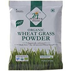 24 Mantra Organic Wheat Grass Powder, 100g for Rs. 260