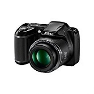 Buy Nikon Coolpix L340 20.2 MP Point And Shoot Digital Camera with 28x Optical Zoom, 16 GB Card and Camera Bag (Black) from Amazon
