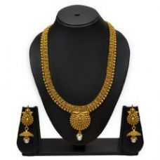 Get 65% off on Traditional Golden Necklace