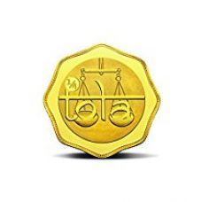 MMTC-PAMP India Pvt. Ltd. QUARTER-TOLA Gold Coin 24k (999.9) purity 2.9159 gm Gold Coin for Rs. 10,465