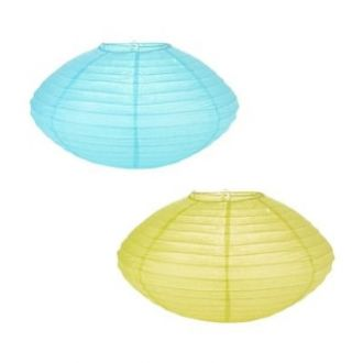 Skycandle Multi-Color Diamond Shaped Round Paper Hanging Lights Pack Of 2 for Rs. 89