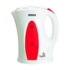Inalsa Vapor 1.2-Litre Electric Kettle (White/Red) for Rs. 609