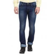 Flat 50% off on KILLER Men'S Skinny Fit Cotton Indigo Jeans
