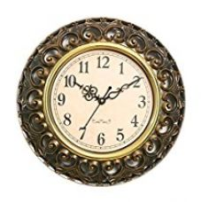 Buy Sns Creations Designer Round Wall Clock from Amazon