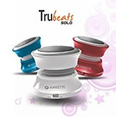 Amkette Trubeats Solo Portable Mobile/Tablet Speaker (White,1.0 Channel) for Rs. 524